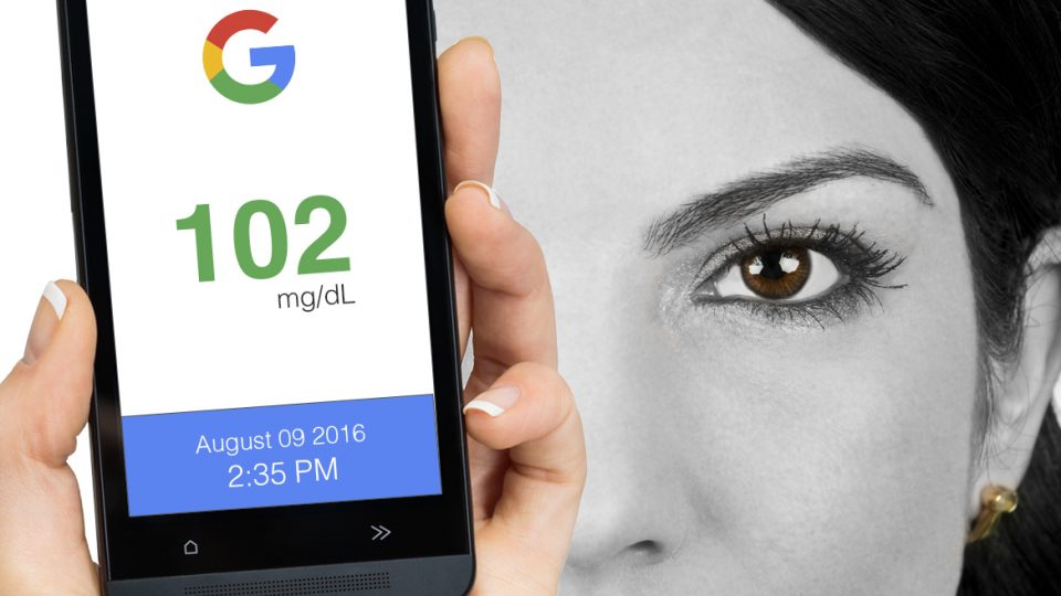 Google Digital contact lenses will continuously measure glucose levels
