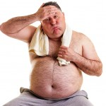 Being overweight can be a heavy burden