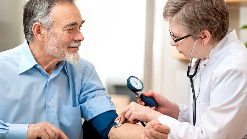 Blood pressure test